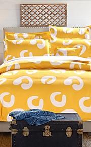 roupa de cama conjunto de 4pcs em três cores de espessura lixar tecido para o Outono&temporadas de Inverno uso