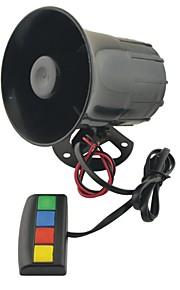 JC-2006 Universal Motorcycle Car Auto Vehicle Van Truck 4 Sound/Tone Loud Horn/Siren Max 12V