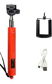 extensible zoomée sans fil bluetooth monopode selfie bâton avec déclencheur à distance taille pliable: 30x12.5x4cm