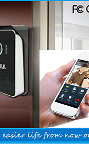 ATZ eBELL® Wireless Doorbell Video Intercom Doorbell Speaker Camera WiFi Video Peephole Door Camera