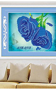 DIY KIT Diamond Cross Stitch , Floral 40*50