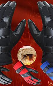 Guantes Ciclismo / Bicicleta Hombres Dedos completos A prueba de resbalones / Mantiene abrigado / A prueba de viento / Forro PolarOtoño /