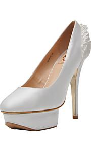 Chaussures de mariage - Noir / Bleu / Vert / Violet / Rouge / Blanc / Champagne - Mariage / Habillé / Soirée & Evénement -Talons / A