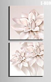 e-Home® venytetty kankaalle taiteen kukka koriste maalaus joukko 2
