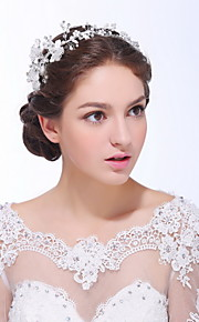 Women's Sterling Silver / Alloy / Imitation Pearl Headpiece - Wedding / Special Occasion / Casual Headbands 1 Piece