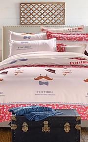 encantador jogo de cama de 4pcs grosso lixar tecido para o Outono&temporadas de Inverno uso