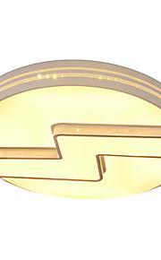 Circle/Fulgurant Ceiling Mounted LED Changable Light Source Color White/Warm White/Yellow  Modern Metal