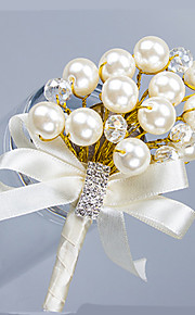 Luxury Pearl Crystal Wedding/Party Boutonniere (8*12cm)