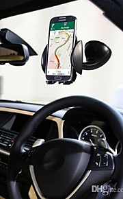 lention parabrezza dell'automobile del telefono cellulare universale supporto del supporto a 360 gradi del telefono da auto per iPhone 6 5