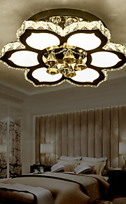 Flush Mount Crystal / LED Traditional/Classic Bedroom / Dining Room / Kids Room Crystal