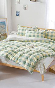 mingjie® regina stile reticolo e le dimensioni di letti levigatura gemello set 4pcs per i ragazzi e le ragazze biancheria da letto cina