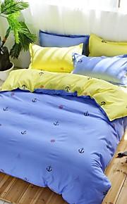 navigazione in molti colori Bedding Set di 4 pezzi di poliestere
