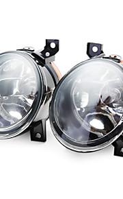 pair paraurti nebbia proiettore abbagliante luce anteriore per 05-10 VW Jetta bora golf mk5 gti ct