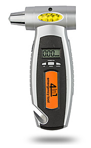 dearroad 4 in 1 multifunctionele digitale lcd autoband meter bandenspanningsmeter auto noodhamer en noodverlichting