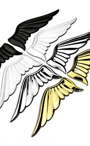3d legering metal vinger englevinger bil mærkat logo dekoration bag på etiketten klistermærker krop indlæg
