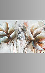 fantasi / Botanisk / Rart / Moderne / Pop Art Lerret Print Et panel Klar til å henge , Vannrett