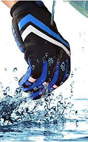 Guantes Ciclismo / Bicicleta Mujer / Hombres Dedos completosA prueba de resbalones / Mantiene abrigado / Impermeable / Listo para vestir