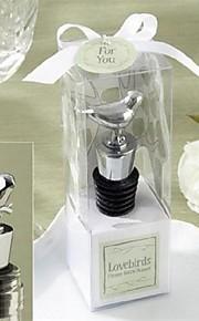 Bouchons de bouteille Bouteille Favor Thème asiatique / Thème classique Non personnalisé Etain Argent 1Pièce/Set