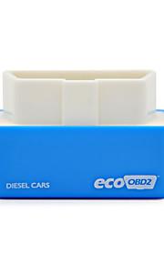 2015 nyeste version stik og køre ecoobd2 ydeevne chip tuning boks til dieselbiler