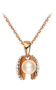 Women's Alloy Necklace Wedding / Birthday / Gift / Party / Special Occasion Imitation Pearl