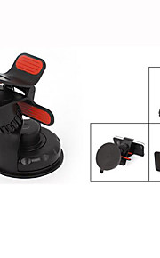 sort plast lås release design telefon gps holder støtte til bil