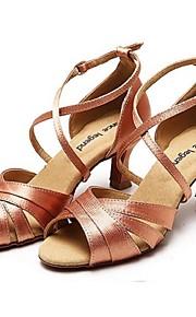 Zapatos de baile ( Negro / Marrón ) - Danza latina - No Personalizable - Tacón Luis XV
