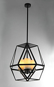 Riipus valot - Metalli - Maalaistyyliset - Minityyli