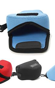 dengpin neopren blød kamera beskyttende sag taske pose til Panasonic DMC-GM5 gm1s 12-32mm linse (assorterede farver)