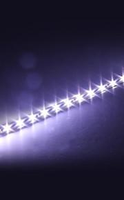 4 bil 30cm 15 SMD LED fleksibel LED strip lys lampe hvid 12v vandtæt