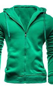 Katoen - Effen - Heren - Activewear Sets - Lange mouw