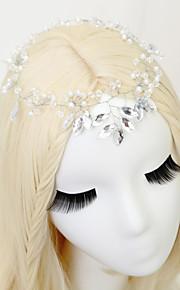 Hårband Headpiece Dam / Blomflicka Bröllop / Speciellt Tillfälle Strass / Legering / Imitation Pärla Bröllop / Speciellt Tillfälle 1 st.
