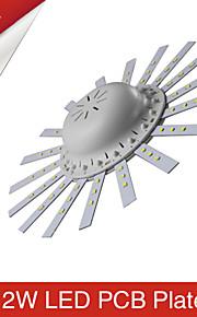 9W / 12W Plafondlampen 60 SMD 2835 1200 lm Warm wit / Koel wit Decoratief AC 85-265 V 1 stuks