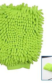 tirol chenilla de microfibra de lavado de coches guante de la limpieza del coche multifuncional de limpieza de lavado manopla mitón