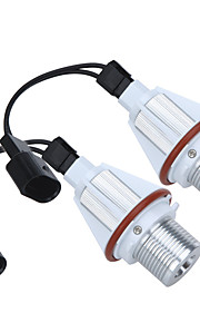 2 * 7W cree led bianchi occhio lampadina alone angelo per errore BMW E39 E53 e60 e63 e64 e65 e66 E83 E87 gratis