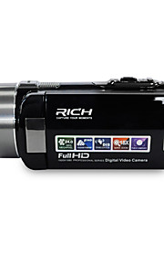 "rijke hd-1000 hd 1080p pixels 13 megapixels 16x zoom 3 ""LCD-scherm Full HD digitale camera camcorder"