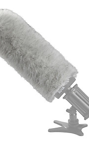 Boya by-P240 lodne udendørs interview mikrofon forruden muffe til shotgun kondensator mikrofoner