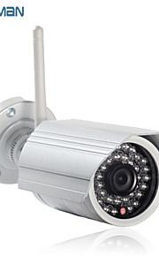 macchina fotografica del IP del hd 720p wireless wifi esterno ONVIF p2p con telecamere di sicurezza slot per schede SD