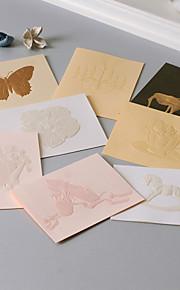 Non-personalized Side Fold Wedding Invitations 1 Piece/Set