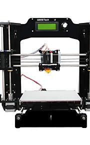Geeetech All Black Acrylic Prusa I3 X 3D Printers (1.75mm Filament 0.3mm Nozzle)
