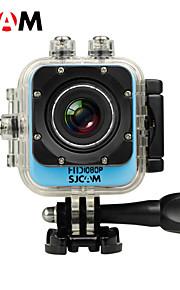 SJCAM M10 Sportskamera 1.5 12MP 4000 x 3000 60fps / 30fps 4X CMOS 32 GB H.264Dansk / Fransk / Spansk / Portugisisk / Polsk / Kinesisk /