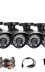 "annke® 1/4 ""cmos 800tvl dag en nacht ir veiligheid weerbestendig surveillance outdoor cctv camera"