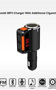 bc09 bluetooth håndfrit bilsæt til cigarettænder / mp3-afspiller