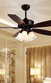 max60w Ventilateur de plafond ,  Rétro Autres Fonctionnalité for Designers MétalSalle de séjour / Chambre à coucher / Salle à manger /