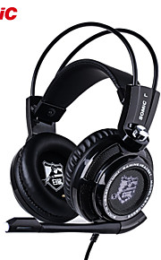somic G941 champion støjreducerende dyb bas 7.1 surroud usb vibrationer førte professionel gaming computer headset