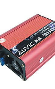 auvic 300w 24v al inversor de alimentación 220v inversor del coche