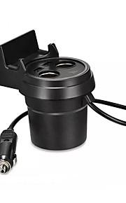 Hoco uc207 DC12-24V multifunctionele cup type autolader