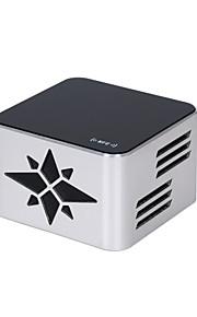 aluminium bluetooth 3D Sound draadloze stereo radio led licht gevoelige touch speaker nfc microfoon app afstandsbediening kr-8100