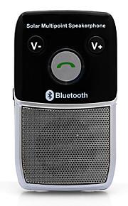 sol håndfri bluetooth 4.1 bilsæt højttaler auto voice prompt