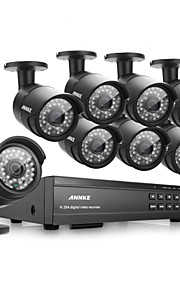 annke® 16ch 1080p HD DVR hdmi cctv outdoor ir home video bewakingscamera
