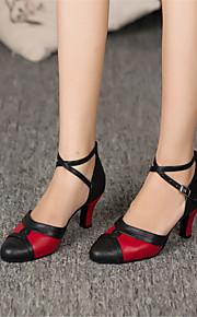 Sapatos de Dança(Multicolorido) -Feminino-Personalizável-Latina / Jazz / Moderna / Salsa / Samba / Sapatos de Swing